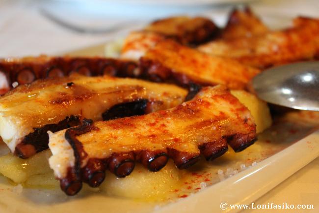 El pulpo, uno de los iconos de la gastronomía gallega