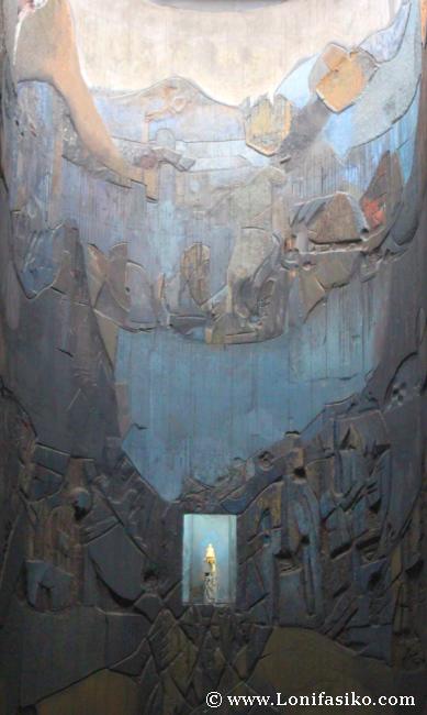 Retablo Santuario de Arantzazu