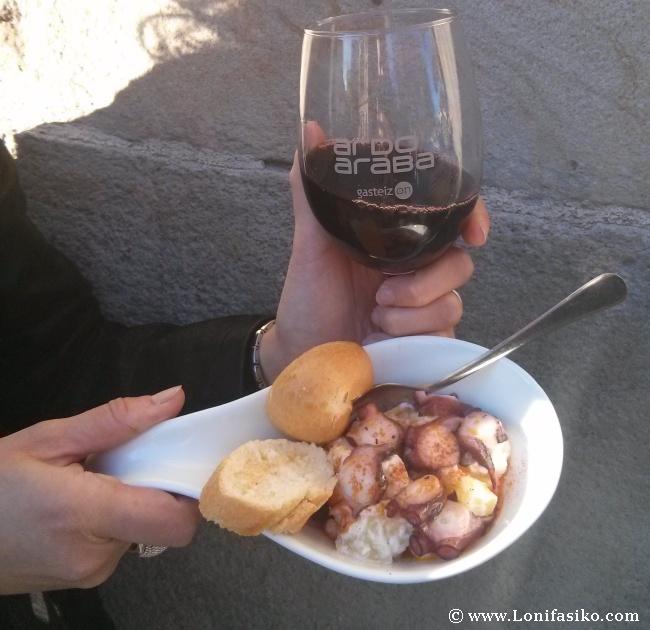 Vino y gastronomía, apuesta segura en Ardoaraba