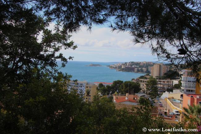 Vistas sobre el Mediterráneo desde la Fundació Pilar i Joan Miró