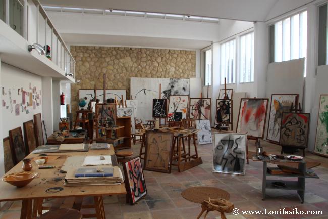 Taller y centro de trabajo de Joan Miró en Palma de Mallorca