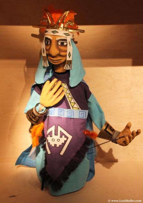 Marioneta musulmán en el Topic de Tolosa