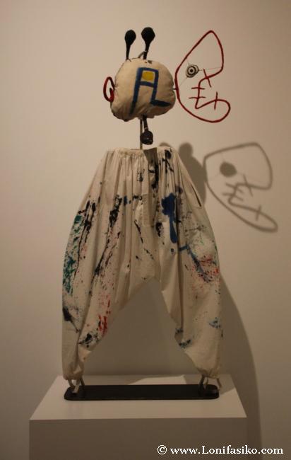 Peculiar creación en el museo Es Baluard