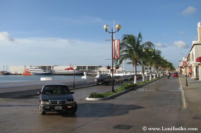 Paseo Marítimo de San Miguel de Cozumel