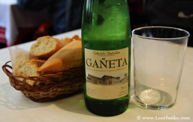 Gañeta, Getariako txakolina, txakoli de Getaria
