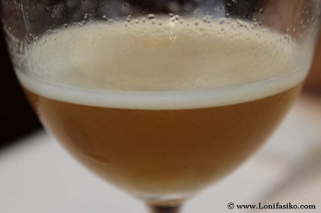 Cocktail de bienvenida, una cerveza que no es una cerveza