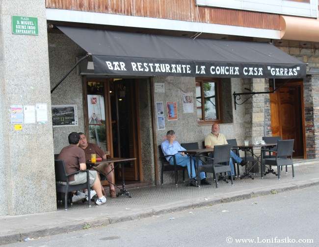 Exterior del Restaurante Casa Garras