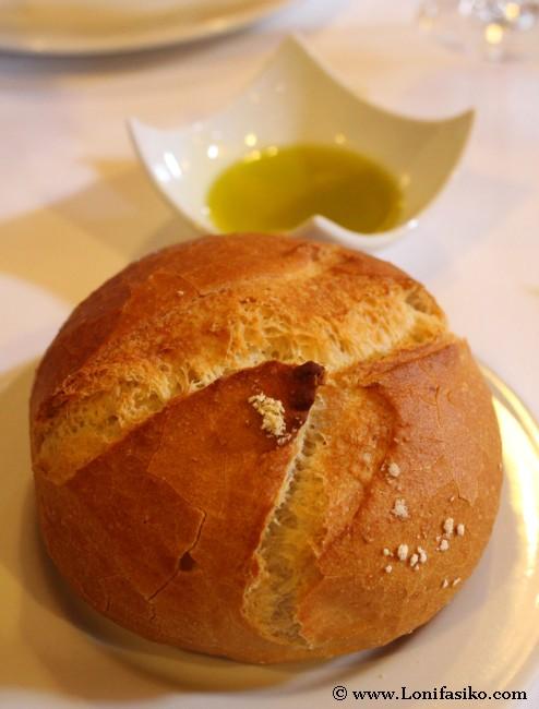 Pan y aceite de oliva