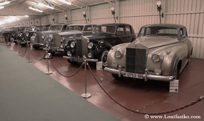Rolls-Royce de diferentes épocas en Torre Loizaga