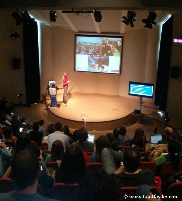 Charla inicial en el Travel Bloggers Meeting 2014 de Gijón