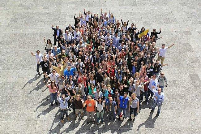 Foto de familia del Travel Bloggers Meeting 2014 de Gijón