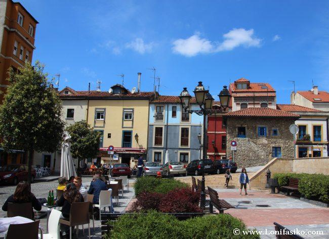 Barrio Cimavilla Gijón fotos sidrerías