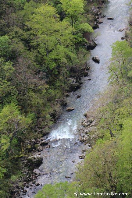 Río Salazar en Foz de Arbayún/Arbaiun