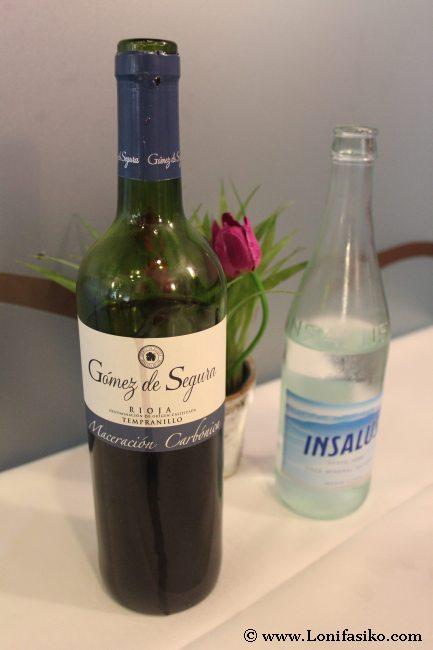 Vino Rioja de maceración carbónica
