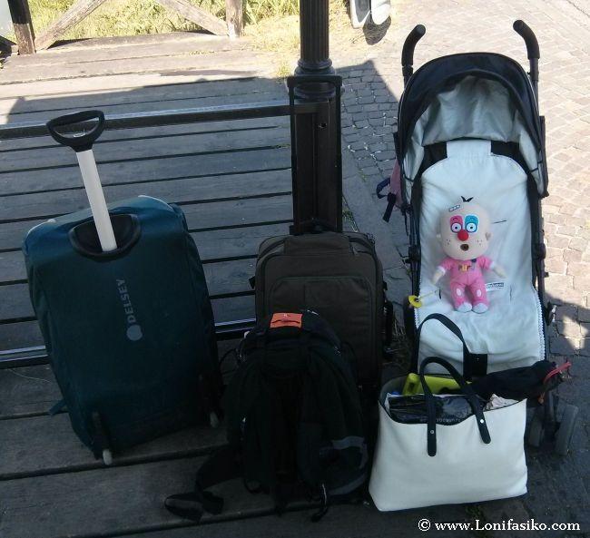 Equipaje para el viaje a Eslovenia con niños