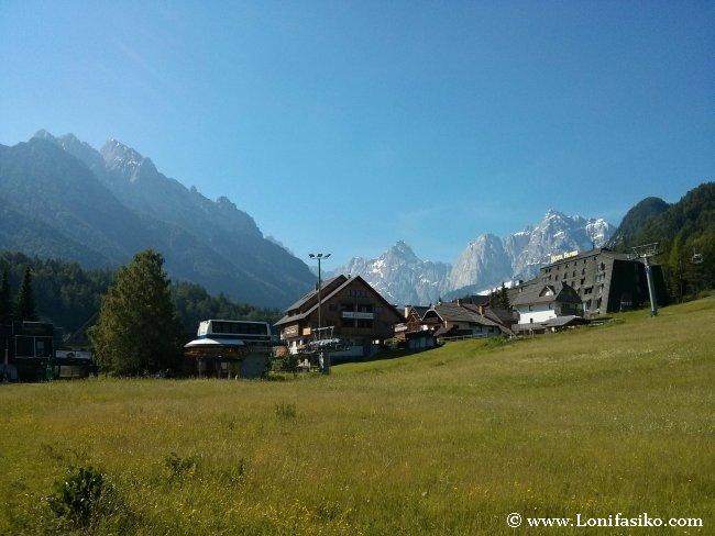 Ruta (alternativa) de Italia a Eslovenia en coche: Entrada por Kranjska Gora, corazón de los Alpes Julianos
