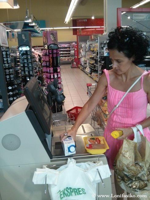 Hacer la compra en supermercados de Eslovenia