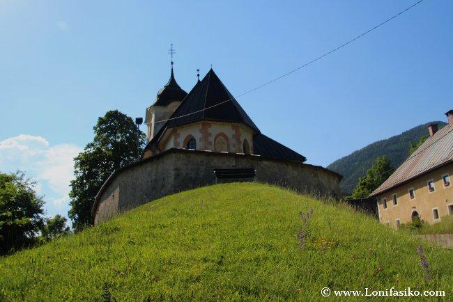 Iglesia de Rateče