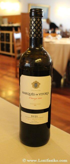 Marqués de Vitoria crianza, vino tinto de Rioja Alavesa