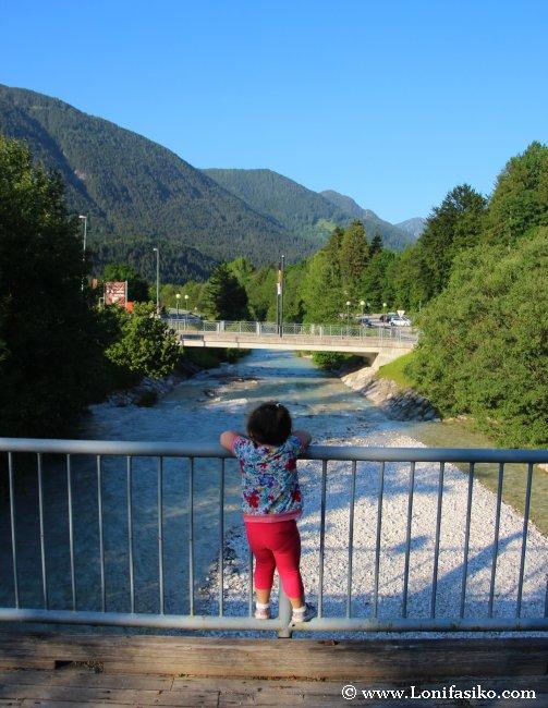 Río Pišnica a su paso por Kranjska Gora