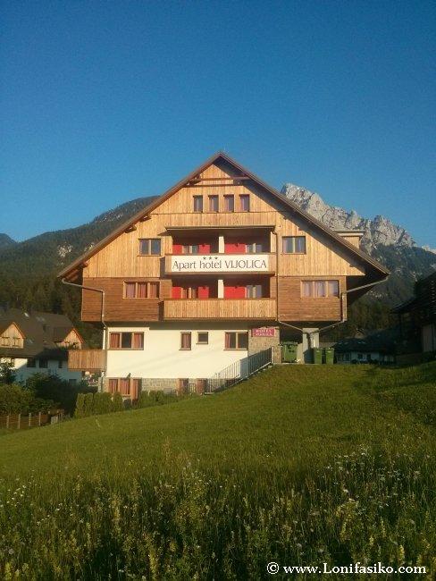 Dónde alojarse en los Alpes Julianos de Eslovenia