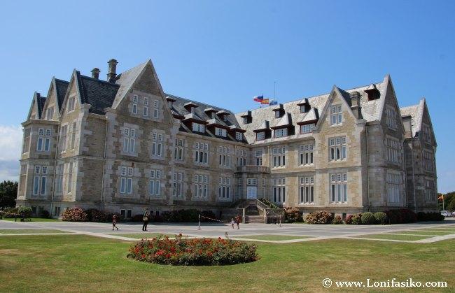 Palacio Real La Magdalena en Santander