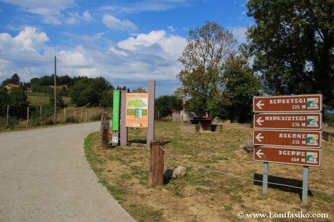 Collado de Liernia, punto de partida ideal para recorrer la vía verde