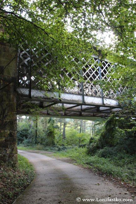 Puente de hierro de Ormaiztegi