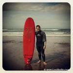 Iniciación al surf en Sopela