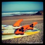 El surf es un deporte muy practicado en las playas de Uribe
