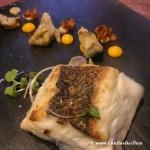 Merluza plancha en el Restaurante Prêt-à-porter Azurmendi