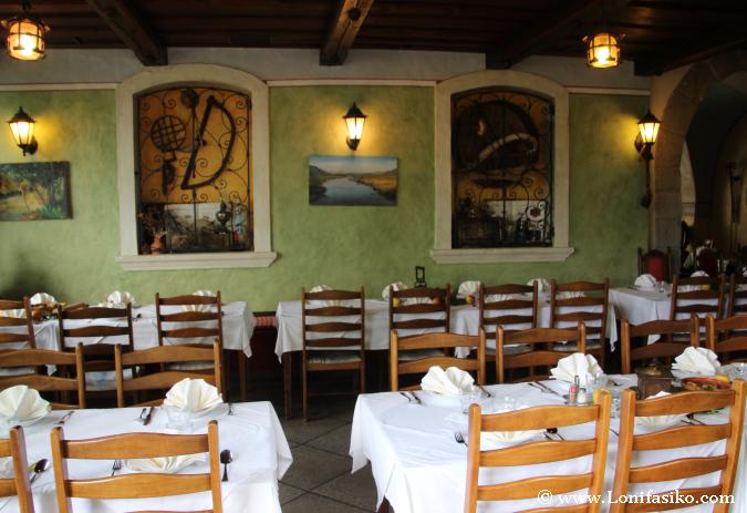 Comedor en el restaurante Gostilna Lectar