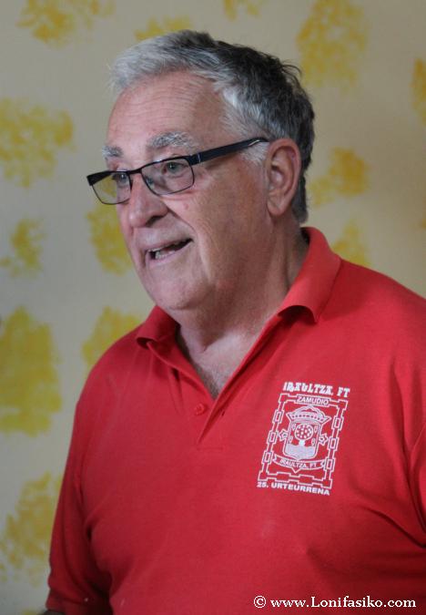Luis Azillona, alma máter del molino Errotabarri