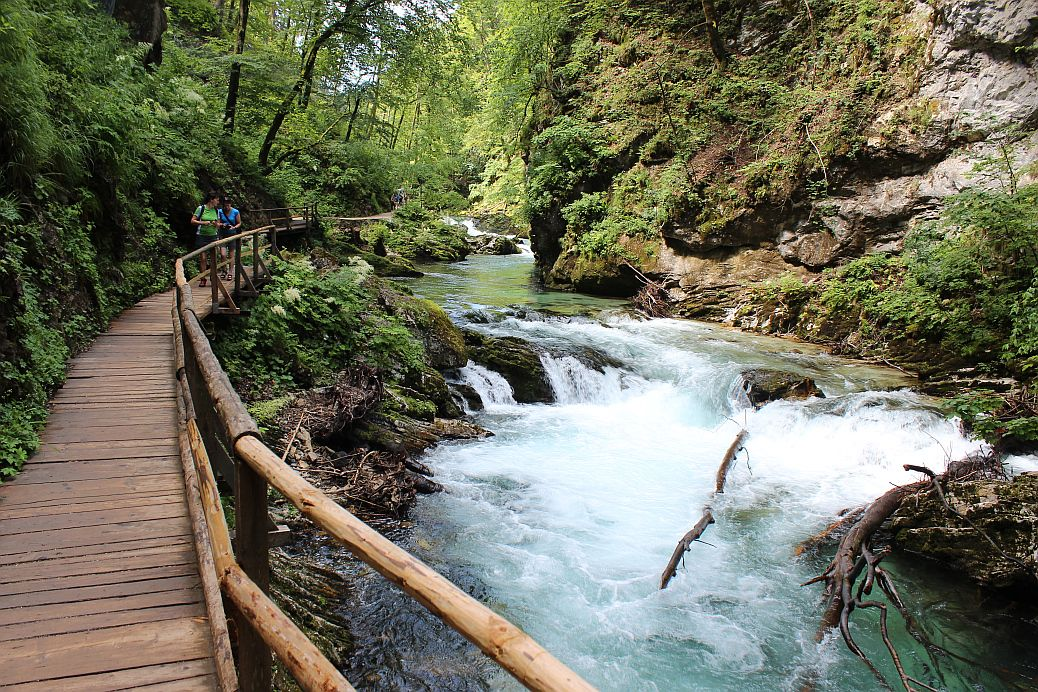 Garganta de Vintgar, el capricho geológico del río Radovna