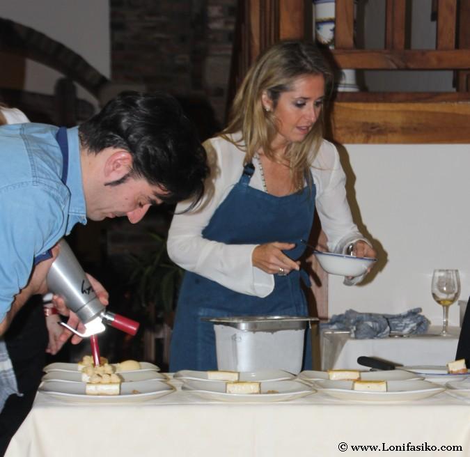 Promesas gastronómicas co-creando en la cocina