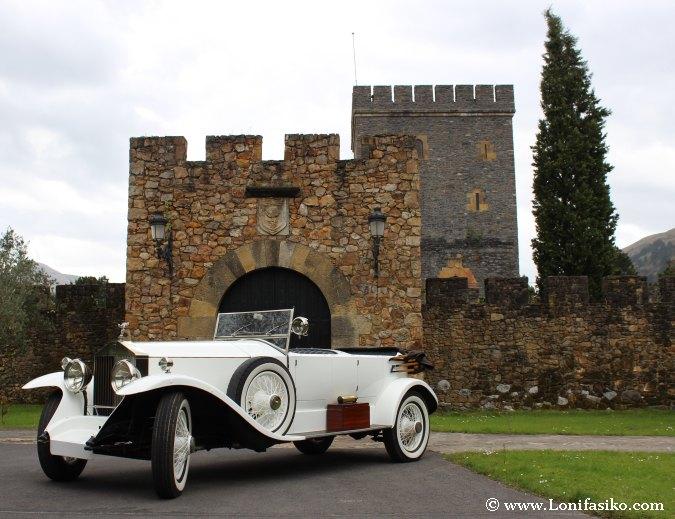Torre Loizaga, la meca de los Rolls-Royce
