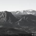 Alluitz y Gorbea desde la cima de Utko