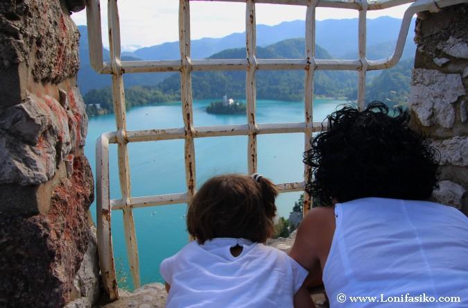 Visitar castillo de Bled con niños