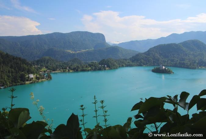 Lago de Bled con su inconfundible isla