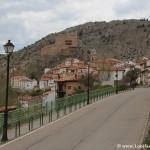 Entrada al pueblo de Alcalá de la Selva