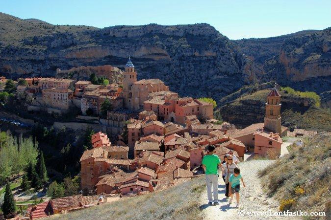 Panorámica de Albarracín desde su muralla