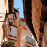Calles estrechas en Albarracín