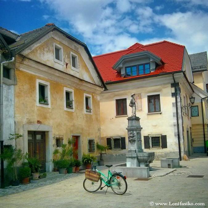 Casco histórico medieval de Radovjlica