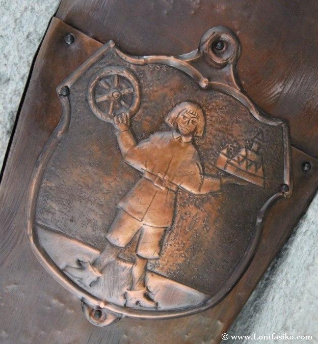 Escudo de la ciudad de Radovjlica