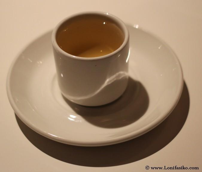 Chupito de sake