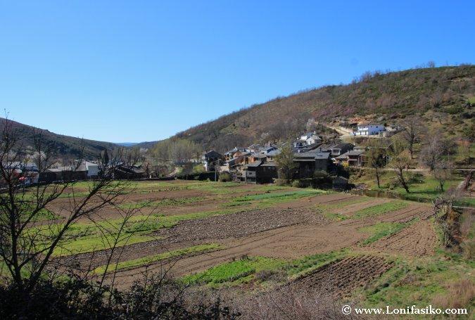 Agricultura en la montaña de Portugal
