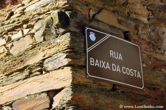 Calles de Rio de Onor en Portugal