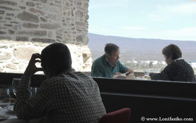 Comedor interior o terraza exterior