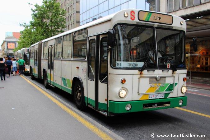 Transporte público en Liubliana
