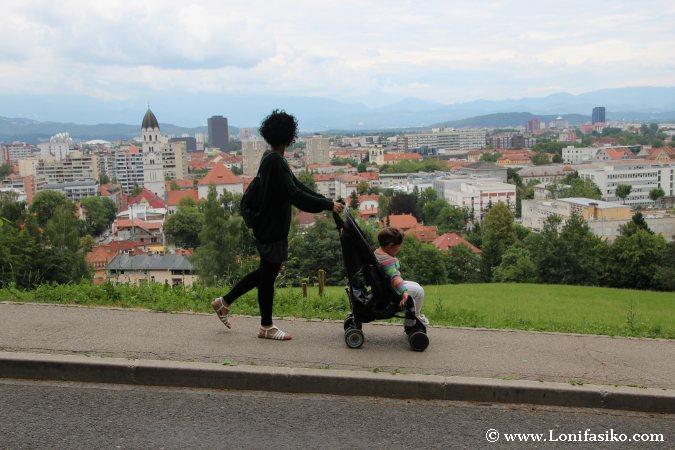 Visitar Liubliana con niños